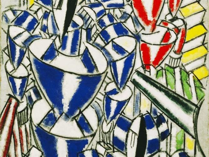 Fernand Leger Rus Balerinlerin çıkışı