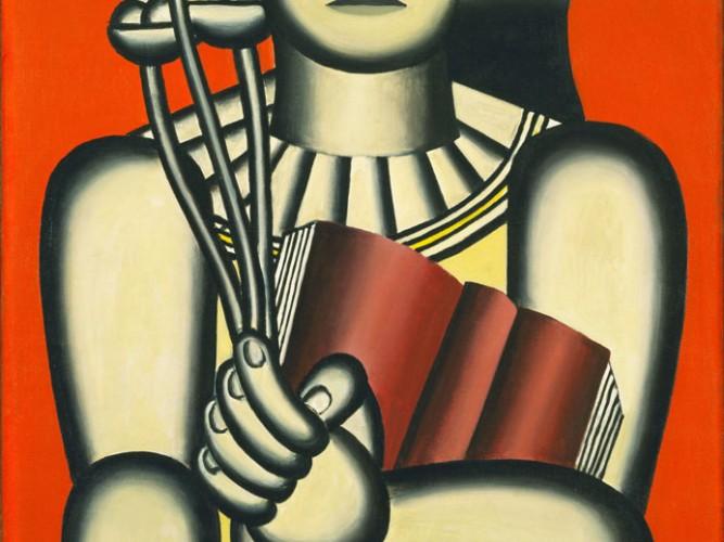 Fernand Leger Kadın ve Kitabı