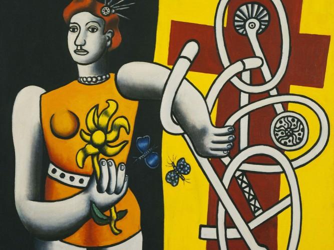 Fernand Leger Büyük Julie