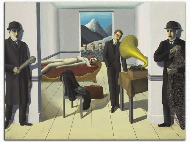 Rene Magritte Suikast Tehdidi