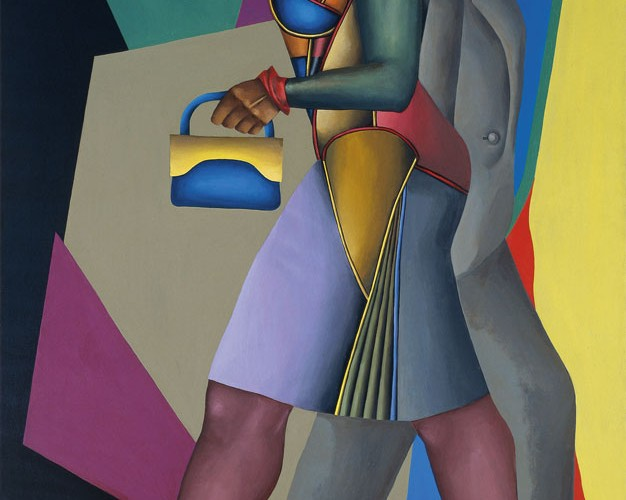 Richard Lindner Alabama üzerinde Ay