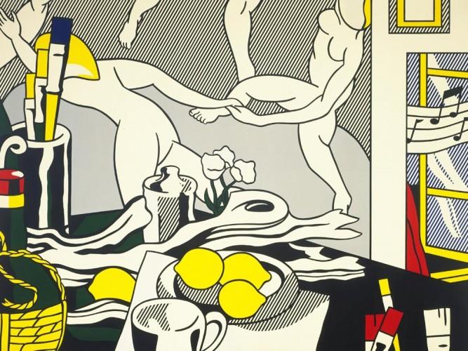 Roy Lichtenstein Sanatçının Stüdyosu