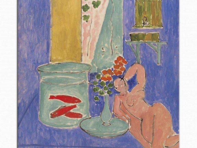 Henri Matisse Altın Balığı ve Heykel