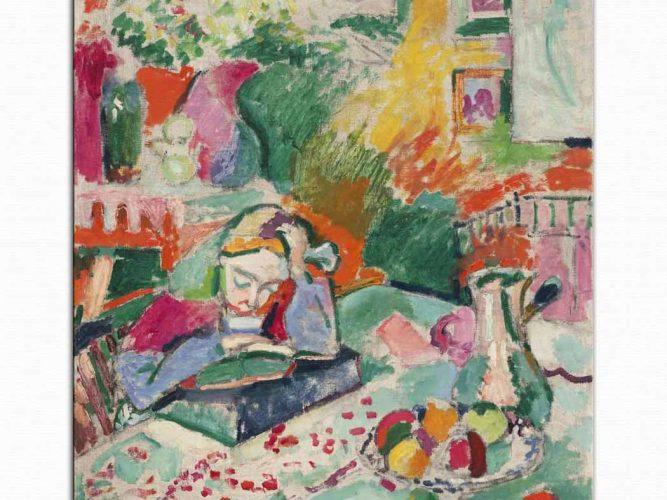 Henri Matisse Genç Bayan
