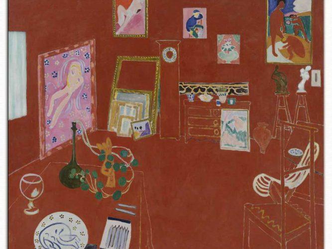 Henri Matisse Kırmızı Stüdyo