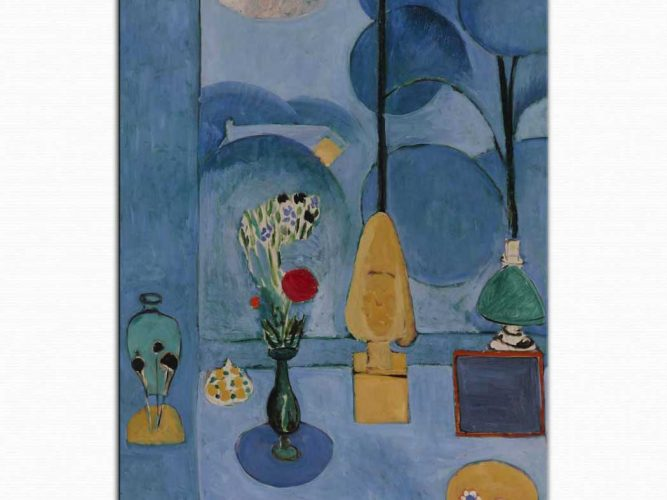 Henri Matisse Mavi Pencere