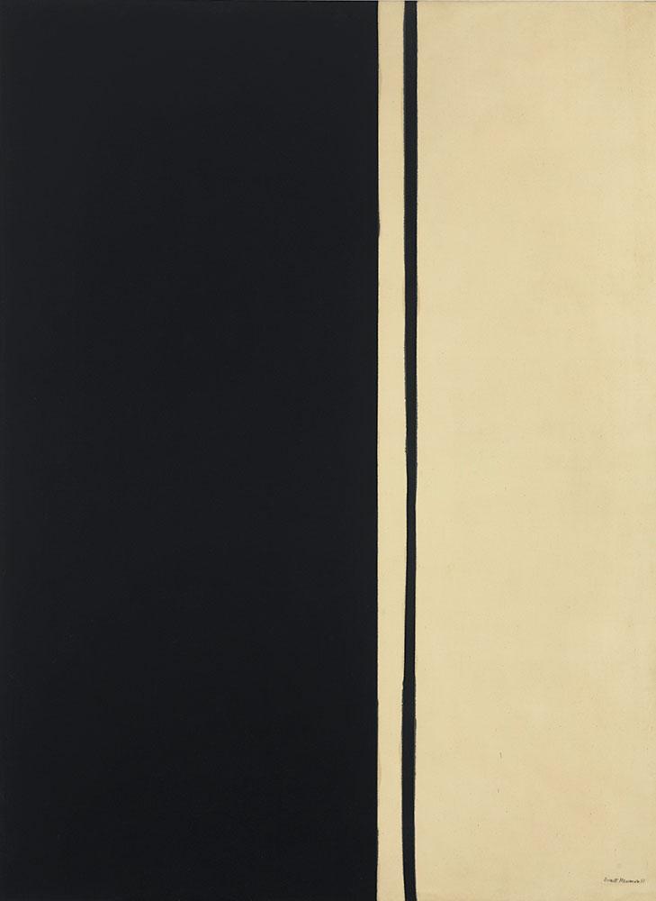 Barnett Newman Siyah Ateş
