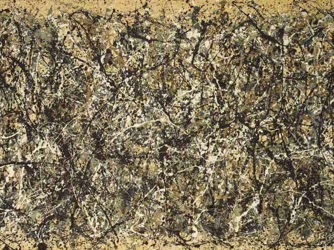 Jackson Pollock Bir No 31