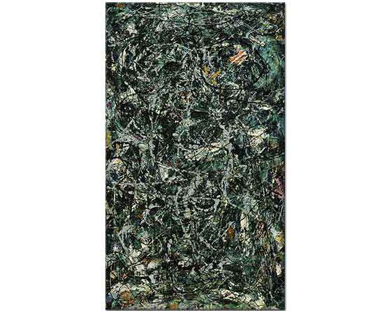Jackson Pollock Full Derinlik Beş