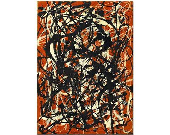 Jackson Pollock Serbest Form