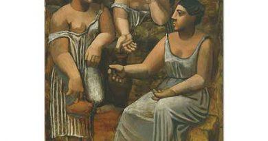 Pablo Picasso Çeşme Başında üç Kadın