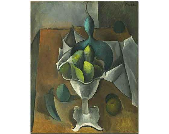 Pablo Picasso Meyve Tabağı