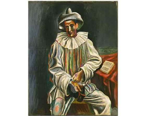 Pablo Picasso Palyaço