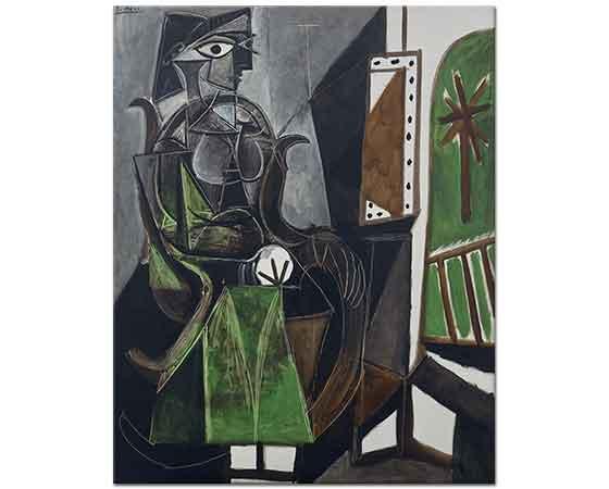 Pablo Picasso Penceredeki Kadın