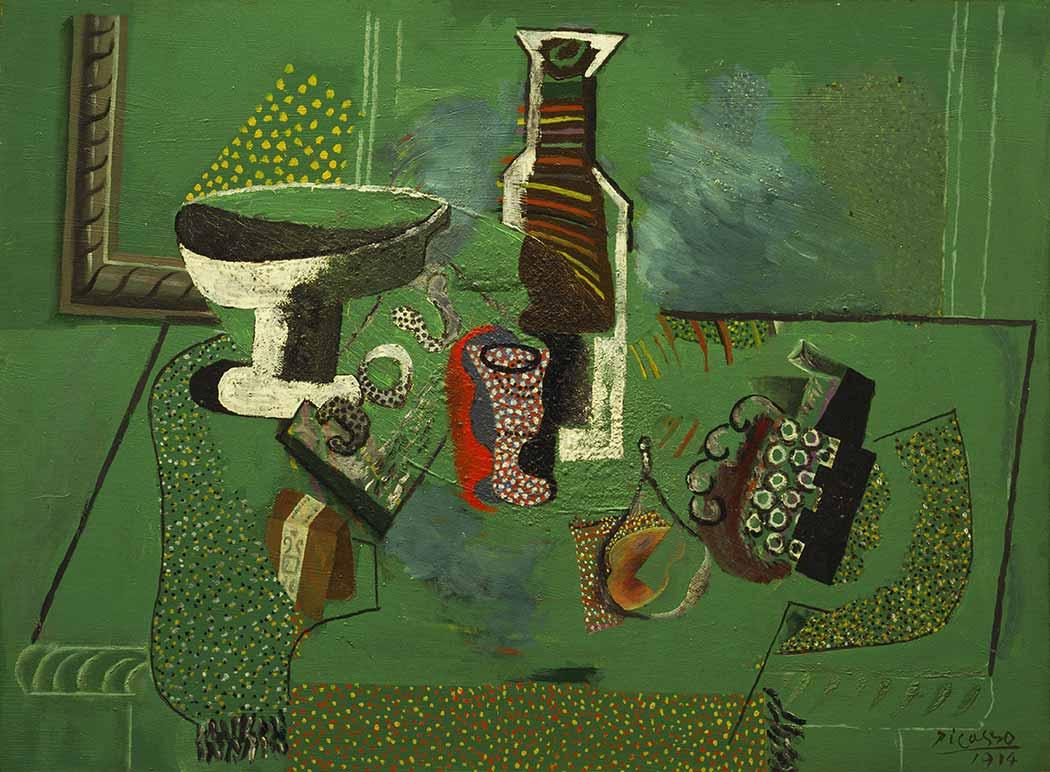 Pablo Picasso Yeşil Natürmort