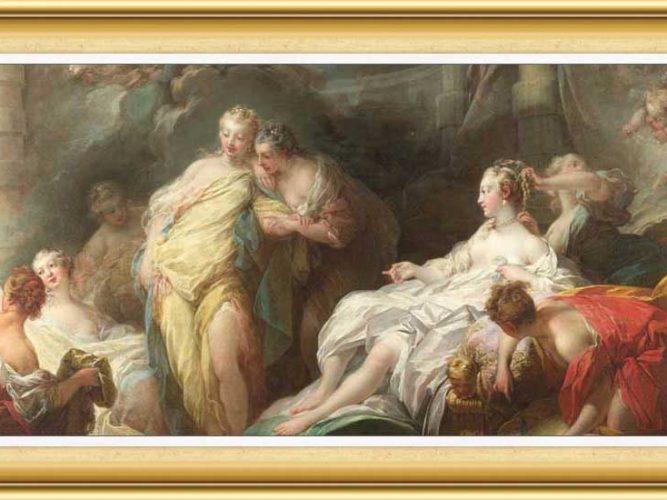 Jean Honore Fragonard hayatı ve eserleri