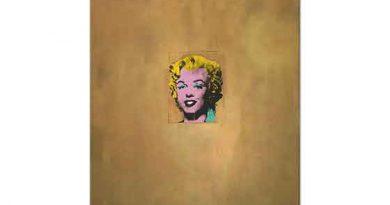 Andy Warhol Altın Marilyn Monroe