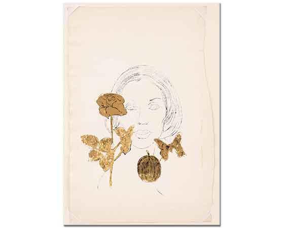 Andy Warhol Bilinmeyen Kadın