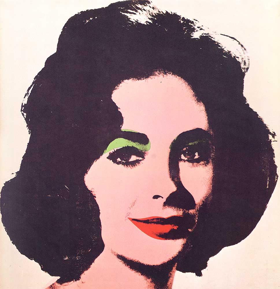 Andy Warhol Elizabeth Taylor