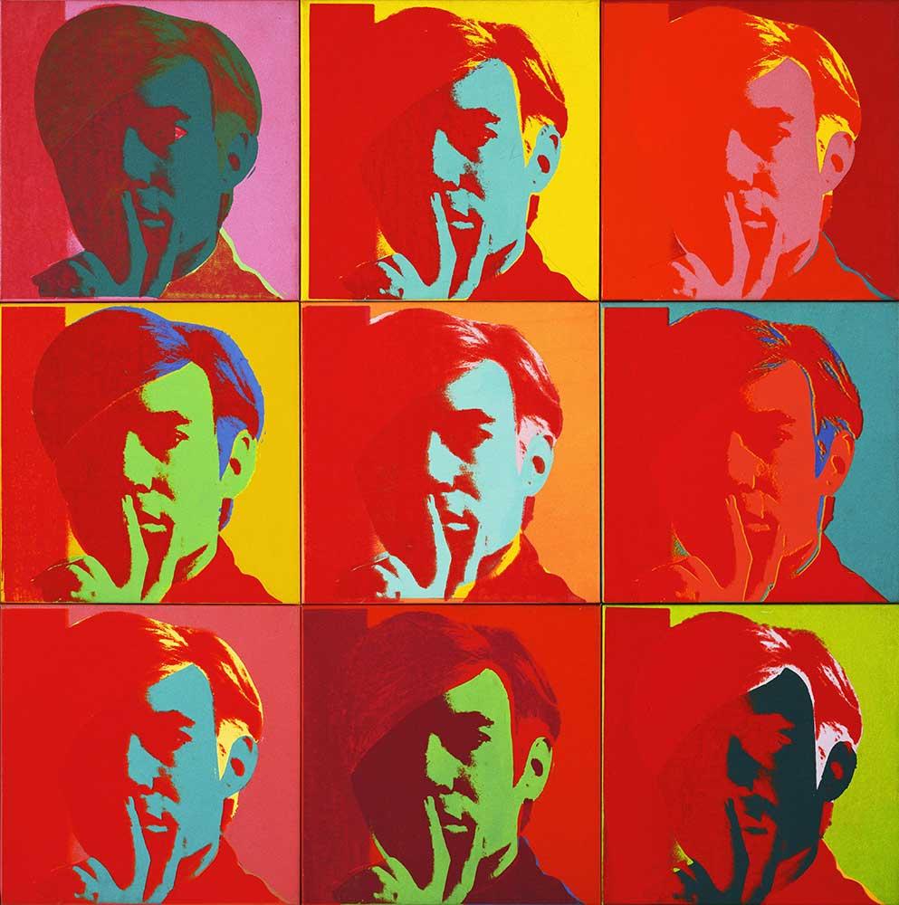 Andy Warhol Kendi Portresi