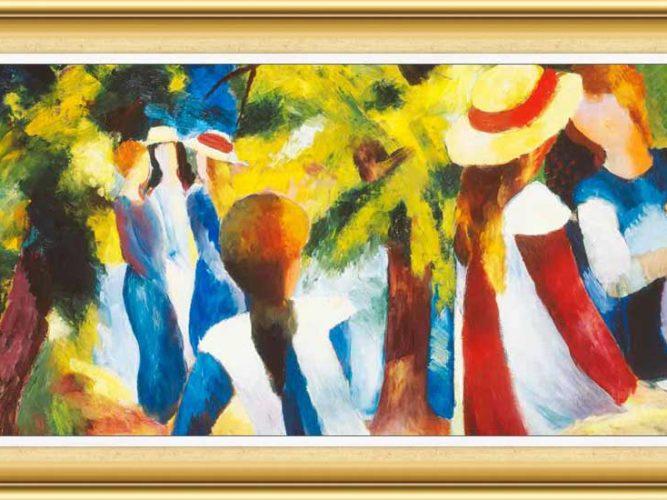 August Macke hayatı ve eserleri