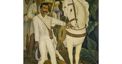 Diego Rivera Çiftçilerin Lideri Zapata