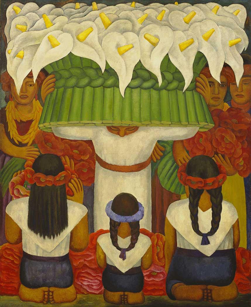 Diego Rivera Santa Anita'da Çiçek Festivali