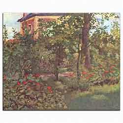 Bellevue'de Bahçe Köşesi