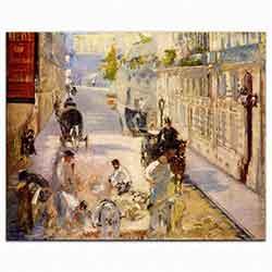 Berne Caddesinde işçiler