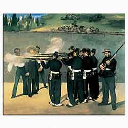 Kaiser Maximilian'ın Meksika'da Kurşuna Dizilişi
