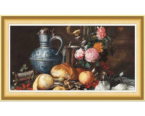 Jan Davidsz de Heem Hayatı ve Eserleri
