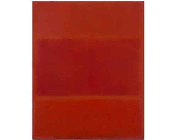 Mark Rothko Kırmızı ve Turuncu