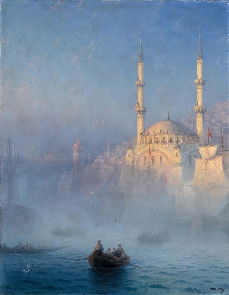 Ivan Konstantinovich Aivazovsky Istanbul'da Kayıklar