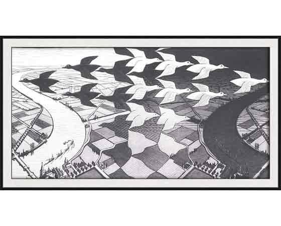 Maurits Cornelis Escher hayatı ve eserleri