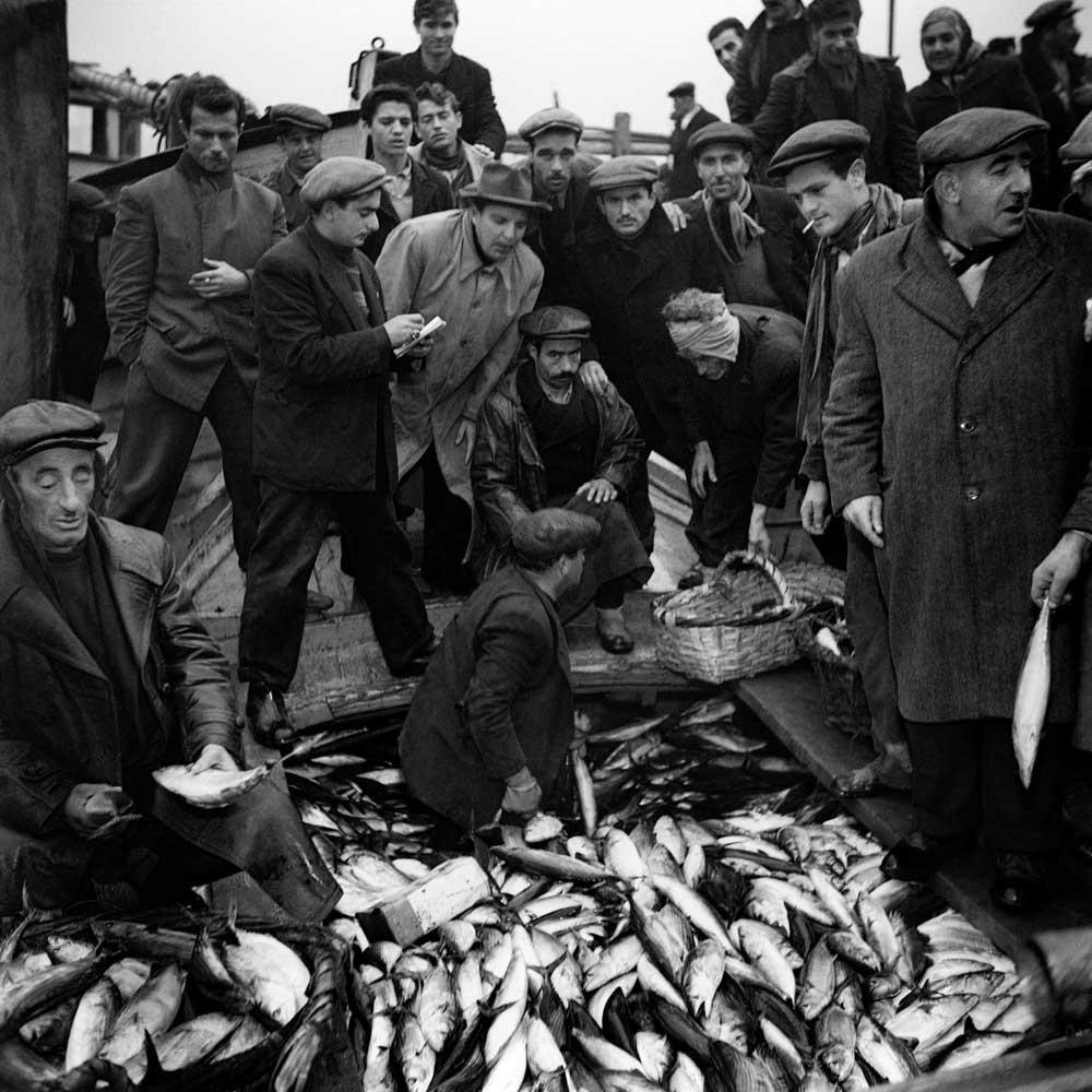 Ara Güler, Kumkapıda Ermeni Balıkçıları