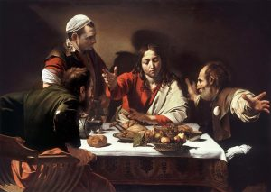 (resim 1) Emmaus'ta Akşam Yemeği