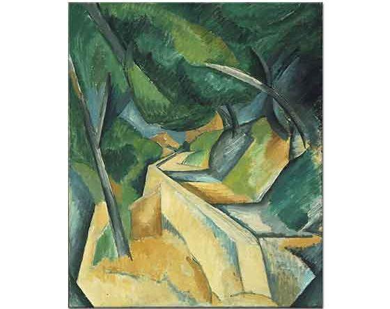 Georges Braque Bahçe Duvarı