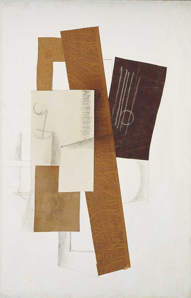 Georges Braque Soyut Kompozisyon