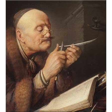 Gerrit Dou Kamış Açarken