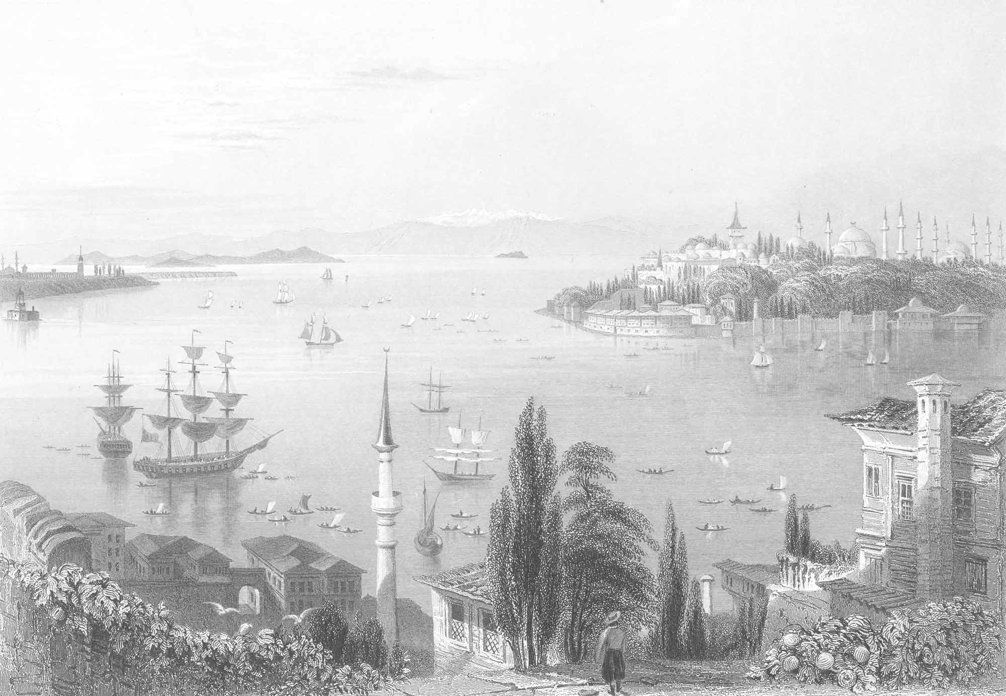 William Henry Bartlett Tarihi Yarımada