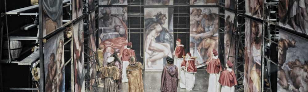 Sahnede bir Michelangelo