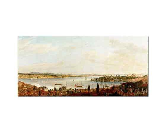 Antoine de Favray Istanbul Panoraması
