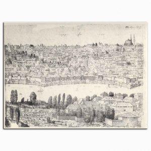 Melchior Lorichs İstanbul Panoramasından