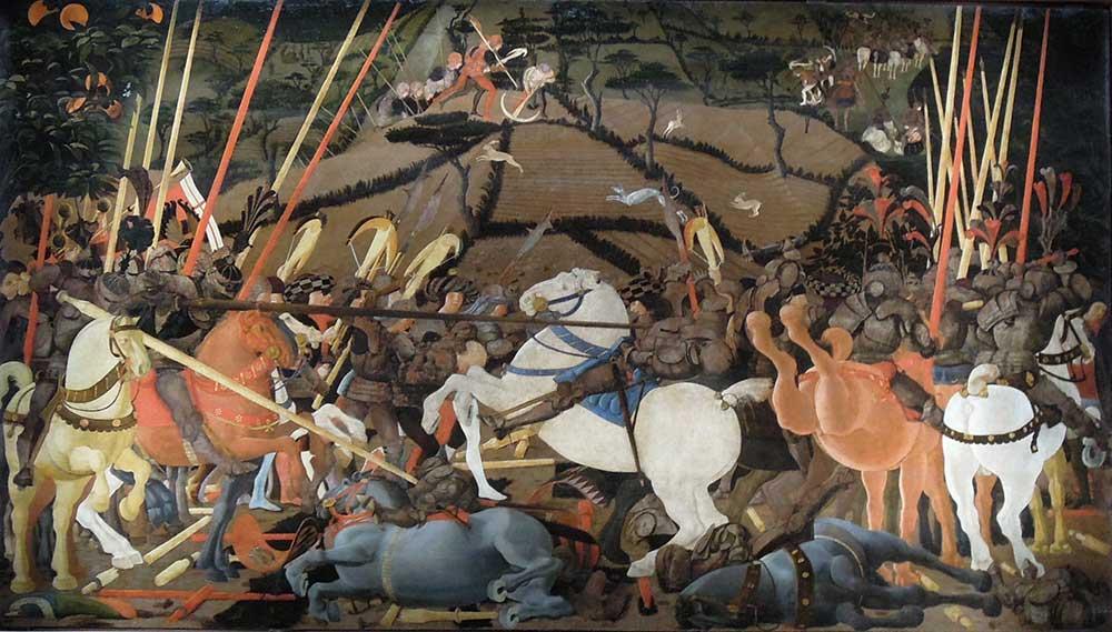 Paolo Uccello San Romano Savaşı