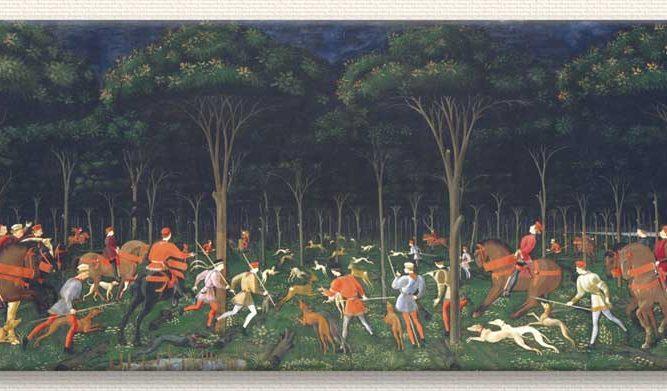 Paolo Uccello Ormanda Avcılar