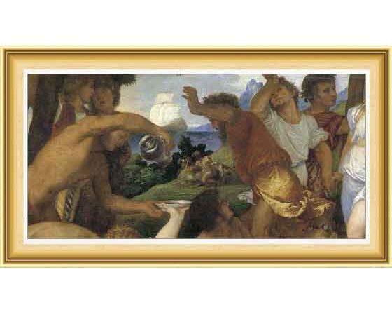 Tiziano Vecellio hayatı ve eserleri