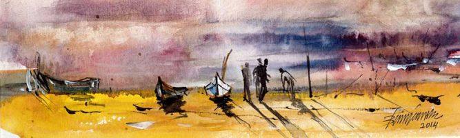 Bünyamin Küçükkürtül Sudan Levhalar Sergisi
