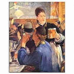 Edouard Manet, Cafe Köşesi, 1878