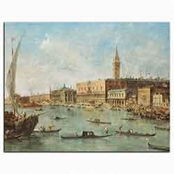 Francesco Guardi, Doge Sarayı Venedik