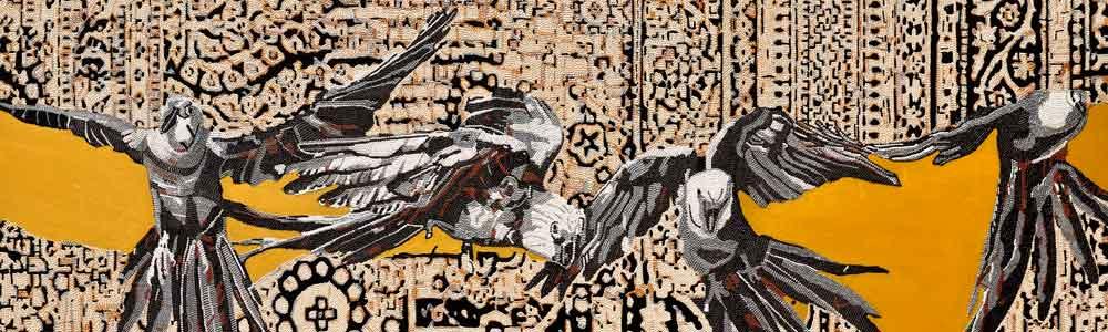 Şeyda Cesur Resim Sergisi Kuş Dili